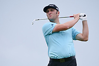 Jon Rahm (ESP) watches his tee shot on 7 during round 3 of the World Golf Championships, Dell Technologies Match Play, Austin Country Club, Austin, Texas, USA. 3/24/2017.<br /> Picture: Golffile | Ken Murray<br /> <br /> <br /> All photo usage must carry mandatory copyright credit (&copy; Golffile | Ken Murray)