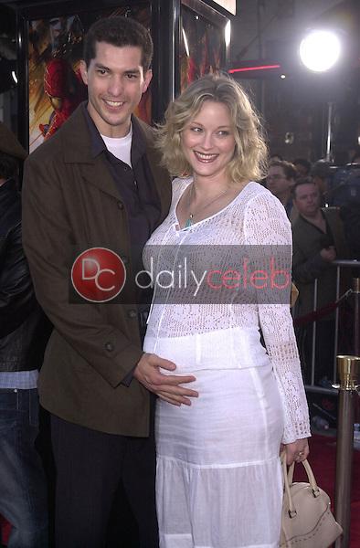 Teri Polo and husband