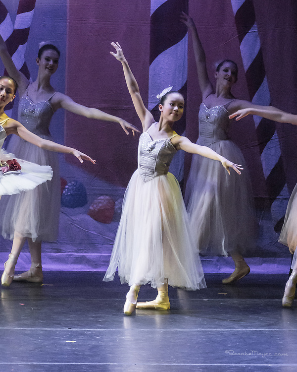 Cary Ballet, Visions Of Sugarplums, Dress Rehearsal, Cary Arts Center, Cary, North Carolina, 13 Dec 2012