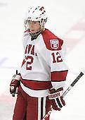 Colin Moore (Harvard - 12) - The Boston College Eagles defeated the Harvard University Crimson 3-2 on Wednesday, December 9, 2009, at Bright Hockey Center in Cambridge, Massachusetts.