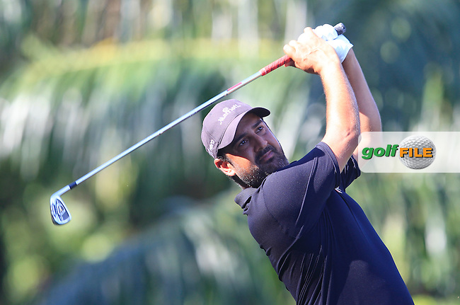Shiv Kapur (IND) on the 5th tee during Round 4 of the Maybank Championship on Sunday 12th February 2017.<br /> Picture:  Thos Caffrey / Golffile<br /> <br /> All photo usage must carry mandatory copyright credit     (&copy; Golffile | Thos Caffrey)