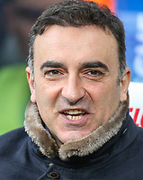 Swansea City manager Carlos Carvalhal<br /> <br /> Photographer Alex Dodd/CameraSport<br /> <br /> The Premier League - Huddersfield Town v Swansea City - Saturday 10th March 2018 - John Smith's Stadium - Huddersfield<br /> <br /> World Copyright &copy; 2018 CameraSport. All rights reserved. 43 Linden Ave. Countesthorpe. Leicester. England. LE8 5PG - Tel: +44 (0) 116 277 4147 - admin@camerasport.com - www.camerasport.com