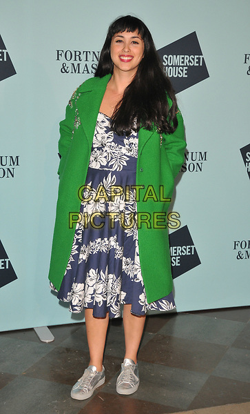 Melissa Hemsley at the Skate at Somerset House wtih Fortnum &amp; Mason VIP launch party, Somerset House, The Strand, London, England, UK, on Tuesday 14 November 2017.<br /> CAP/CAN<br /> &copy;CAN/Capital Pictures