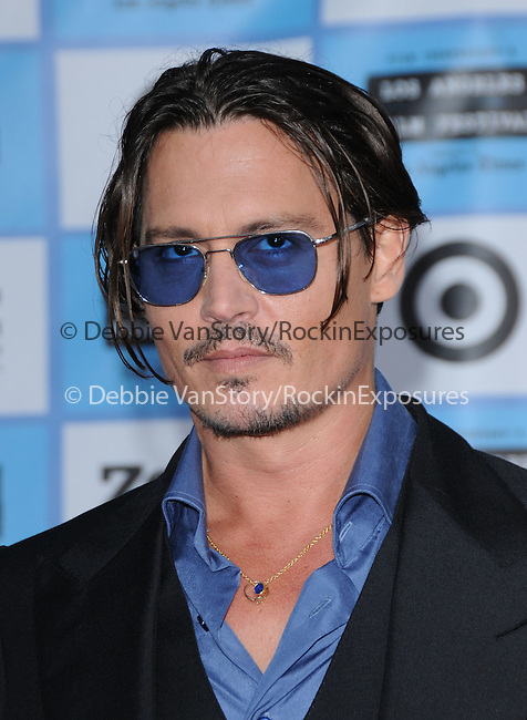 Johnny Depp at The Los Angeles Film Festival 2009 Premiere of Universal Pictures' Public Enemies held at The Mann's Village Theatre in Westwood, California on June 23,2009                                                                     Copyright 2009 DVS / RockinExposures