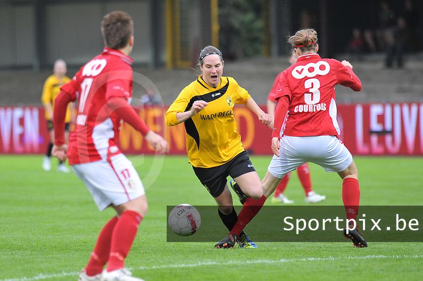 Bekerfinale 2012 : WD Lierse SK - Standard Femina :.Kristien Elsen.foto David Catry / Joke Vuylsteke / Vrouwenteam.be