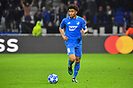 Hoffenheims Reiss Nelson (Nr.9) am Ball beim Spiel  in der Champions League, Olympique Lyon - TSG 1899 Hoffenheim.<br /> <br /> Foto &copy; PIX-Sportfotos *** Foto ist honorarpflichtig! *** Auf Anfrage in hoeherer Qualitaet/Aufloesung. Belegexemplar erbeten. Veroeffentlichung ausschliesslich fuer journalistisch-publizistische Zwecke. For editorial use only. DFL regulations prohibit any use of photographs as image sequences and/or quasi-video.