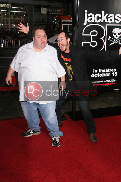 Preston Lacy and Ehren McGhehey<br />