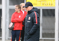 Co-Trainer Armin Reuthershahn (Eintracht Frankfurt) nachdenklich - 04.04.2018: Eintracht Frankfurt Training, Commerzbank Arena