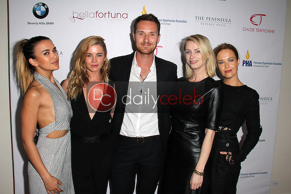 Fely Irvine, Jessica Grace Smith, Benedict Wall, Gemma Lee, Krew Boylan<br />