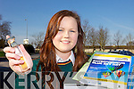 PROTECT: Killorglin Community College student Edel O'Shea who has created a polymer which protects skin from jewellery.