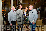 L-R John O'Connor, Mariam Brosnan, Shauna O'Connor and Liam Brosnan all from Castleisland pictured at the Miss Kerry 2016 in the Brehon hotel, Killarney last Saturday night.