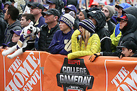 12 November 2016:   The ESPN Game Day crew was on hand for the the game between Washington and USC at the University of Washington in Seattle, WA.