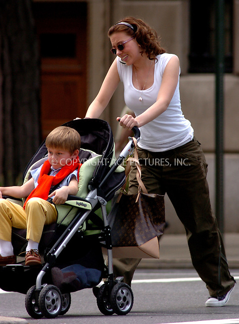 WWW.ACEPIXS.COM . . . . .  ....NEW YORK, MAY 4, 2006....Scarlett Johannson filming on the set of 'The Nanny Diaries'.....Please byline: AJ Sokalner - ACEPIXS.COM.... *** ***..Ace Pictures, Inc:  ..(212) 243-8787 or (646) 769 0430..e-mail: picturedesk@acepixs.com..web: http://www.acepixs.com