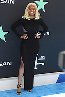 LOS ANGELES, CA - JUNE 23: Karen Civil at the 2019 BET Awards at the Microsoft Theater in Los Angeles on June 23, 2019. Credit: Walik Goshorn/MediaPunch