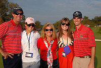 USA Team Captain Paul Azinger and family celebrate victory over Europe on the 17th green after the Singles on the Final Day of the Ryder Cup at Valhalla Golf Club, Louisville, Kentucky, USA, 21st September 2008 (Photo by Eoin Clarke/GOLFFILE)