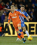 09.02.2019: Kilmarnock v Rangers : Ross McCrorie and Greg Taylor