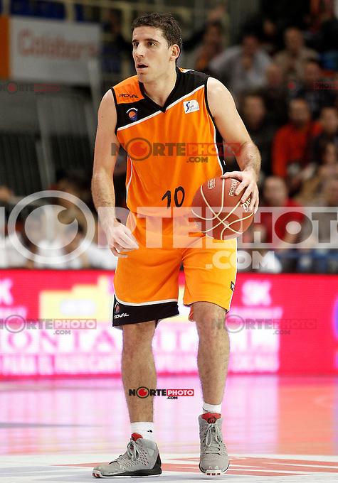 Mad-Croc Fuenlabrada's Quino Colom during Liga Endesa ACB match.November 18,2012. (ALTERPHOTOS/Acero) /NortePhoto