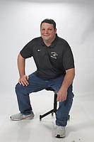 NWA Democrat-Gazette/DAVID GOTTSCHALK  Coach of the Year Jason Adams from Bentonville High School Wednesday, March 13, 2019, at the Northwest Arkansas Democrat-Gazette office in Fayetteville.<br /> <br /> AN WRE-BENT ADAMS