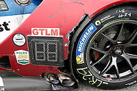 IMSA WeatherTech SportsCar Championship<br /> Rolex 24 Hours<br /> Daytona Beach, Florida, USA<br /> Sunday 28 January 2018<br /> #66 Chip Ganassi Racing Ford GT, GTLM: Dirk Müller, Joey Hand, Sébastien Bourdais, post-race damage<br /> World Copyright: Michael L. Levitt<br /> LAT Images<br /> <br /> ref: Digital Image _68I0809