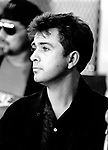 Peter Gabriel 1986 at Amnesty Press Conference<br />&copy; Chris Walter