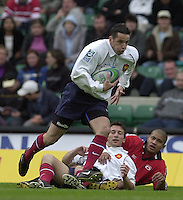 25/05/2002 (Saturday).Sport -Rugby Union - London Sevens.Canada vs France (Final) .France winning final..Fredric Lartigue[Mandatory Credit, Peter Spurier/ Intersport Images].