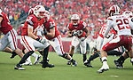 Wisconsin Badgers running back James White (20) carries the ball during an NCAA college football game against the Indiana Hoosiers on November 13, 2010 at Camp Randall Stadium in Madison, Wisconsin. The Badgers won 83-20. (Photo by David Stluka)