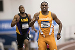 COLLEGE STATION, TX - MARCH 11: Christian Coleman of Tennessee competes in the 200 meter dash during the Division I Men's and Women's Indoor Track & Field Championship held at the Gilliam Indoor Track Stadium on the Texas A&M University campus on March 11, 2017 in College Station, Texas. (Photo by Michael Starghill/NCAA Photos/NCAA Photos via Getty Images)