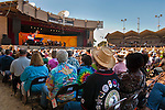 Crowds watching the mucicians and bands play at the 52nd Annual Monterey Jazz Festival, Monterey, California