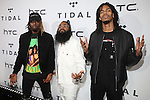 Tidal Rising Act Flatbush Zombies Attend TIDAL X: 1020 Amplified by HTC