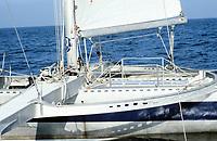 Première Route du Rhum, 1978. Kriter IV, skipper Olivier de Kersauson, 4e position.