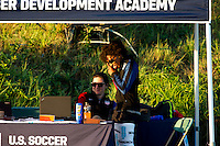 Carson, CA - November 5, 2016: The U.S. Soccer Development Academy 2016 U-13/U-14 West Regional Showcase at StubHub Center.