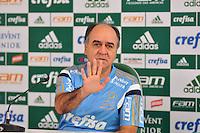 SÃO PAULO,SP, 02.10.2015 - FUTEBOL-PALMEIRAS - Marcelo Oliveira do Palmeiras durante entrevista coletiva na Academia de Futebol na Barra Funda zona oeste, nesta sexta-feira 02. (Foto: Bruno Ulivieri/Brazil Photo Press)
