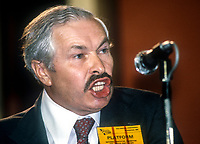 MP Doug Hoyle, speaking, UK Labour Party, annual conference, September, 1982, 198209000173<br /><br />Copyright Image from Victor Patterson, 54 Dorchester Park, <br />Belfast, UK, BT9 6RJ<br /><br />t1: +44 28 9066 1296 (from Rep of Ireland 048 9066 1296)<br />t2: +44 28 9002 2446 (from Rep of Ireland 048 9002 2446)<br />m: +44 7802 353836<br /><br />victorpatterson@me.com<br />www.victorpatterson.com<br /><br />Please see my Terms and Conditions of Use at VICTORPATTERSON.COM. It is IMPORTANT that you familiarise yourself with them.<br /><br />Images used on the Internet must be visibly watermarked i.e. &copy;VICTORPATTERSON.COM within the body of the image and copyright metadata must not be deleted. Images used on the Internet have a size restriction of 4kbs and are chargeable at the then current NUJ rates.<br /><br />This image is only available for the use of the download recipient i.e. television station, newspaper, magazine, book publisher, etc, and must not be passed on to any third party. It is also downloaded on condition that each and every usage is notified within 7 days to victorpatterson@me.com<br /><br />The right of Victor Patterson to be identified as the author is asserted in accordance with The Copyright Designs And Patents Act (1988).