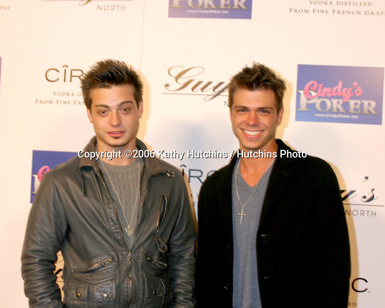 Andrew Lawrence.Matthew Lawrence.Guy's North Club Grand Opening .Studio City, CA.February 19, 2006.©2006 Kathy Hutchins / Hutchins Photo....