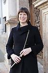 20/12/2015 Portrait of Cornett player Helen Roberts taken in Hall, Tirol, Austria.