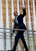 United States President Barack Obama arrives to deliver remarks at Adas Israel Congregation in celebration of Jewish American Heritage Month, on Friday May 22, 2015, in Washington, DC.<br /> Credit: Aude Guerrucci / Pool via CNP