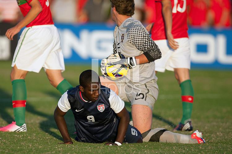 U.S. U-17 MNT Falls 4-3 to Portugal in Finale of 2012 Nike International Friendlies