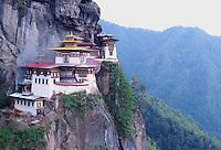 Tiger's Nest Buddhist monastery, Western Bhutan