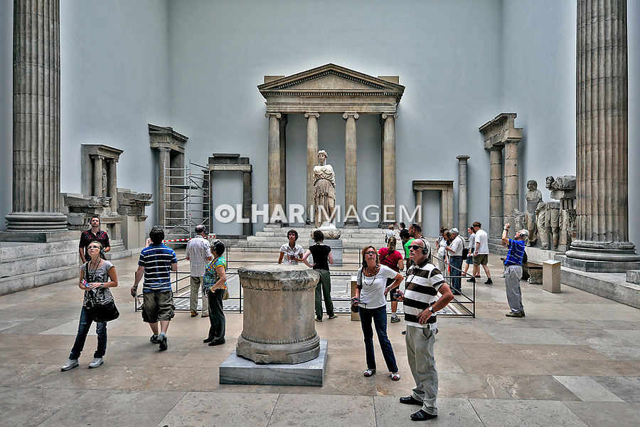 Exposiçao Pergamon Museum em Berlin. Alemanha. 2011. Foto de Juca Martins.