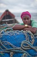 Fisherman's daughter - Robertsport, Liberia