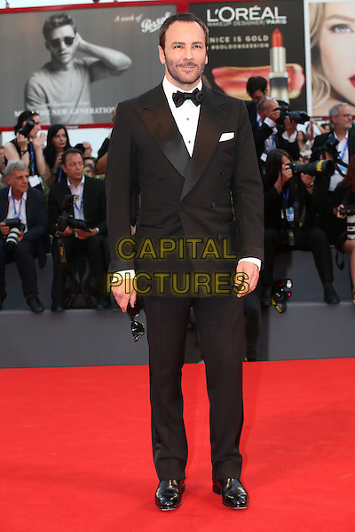 VENICE, ITALY - SEPTEMBER 10: Tom Ford on the red carpet ' during 73rd Venice Film Festival at Venice Lido, Italy on September 10, 2016.<br /> CAP/GOL<br /> &copy;GOL/Capital Pictures