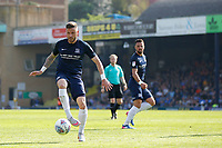Michael Kightly of Southend United during the Sky Bet League 1 match between Southend United and MK Dons at Roots Hall, Southend, England on 21 April 2018. Photo by Carlton Myrie.