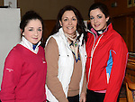 Analyn, Tracey and Grace Pentony pictured at the Captain's drive in at Seapoint golf club. Photo:Colin Bell/pressphotos.ie