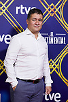 Secun de la Rosa attends to 'El Continental' premiere at Callao City Lights cinema in Madrid, Spain. September 13, 2018. (ALTERPHOTOS/A. Perez Meca)