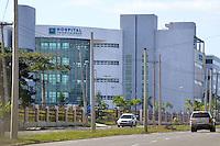 Fachada del Hospital Traumatologico Dr. Ney Arias Lora.Fotos: Carmen Suárez/acento.com.do.Fecha: 26/12/2011.