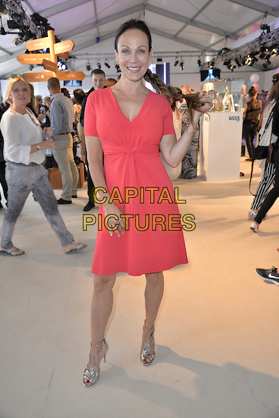 BERLIN, GERMANY - JULY 09: Sonja Kirchberger attends the Minx by Eva Lutz show during the Mercedes-Benz Fashion Week Spring/Summer 2015 at Erika Hess Eisstadion on July 9, 2014 in Berlin, Germany. <br /> CAP/AAP/PAN<br /> &copy;Panckow/AAP/Capital Pictures