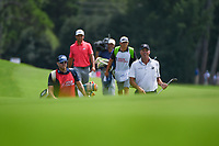 Matt Kuchar (USA) and Xander Schauffele (USA) make their way down 8 during round 1 of the 2019 Tour Championship, East Lake Golf Course, Atlanta, Georgia, USA. 8/22/2019.<br /> Picture Ken Murray / Golffile.ie<br /> <br /> All photo usage must carry mandatory copyright credit (© Golffile | Ken Murray)