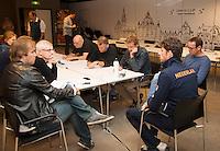 11-sept.-2013,Netherlands, Groningen,  Martini Plaza, Tennis, DavisCup Netherlands-Austria, Interview with Robin Haase<br /> Photo: Henk Koster