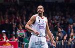 S&ouml;dert&auml;lje 2014-04-15 Basket SM-Semifinal 5 S&ouml;dert&auml;lje Kings - Uppsala Basket :  <br /> Uppsalas Oluoma Nnamaka <br /> (Foto: Kenta J&ouml;nsson) Nyckelord:  S&ouml;dert&auml;lje Kings SBBK Uppsala Basket SM Semifinal Semi T&auml;ljehallen portr&auml;tt portrait
