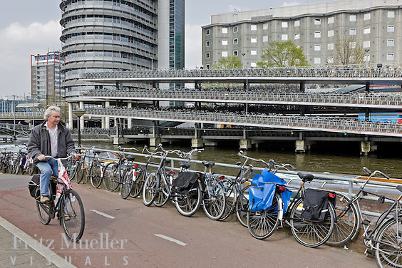 Bike-friendly Amsterdam